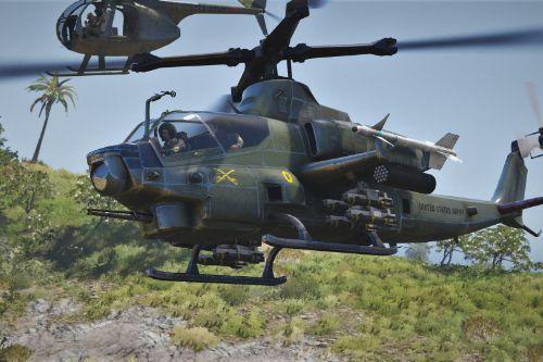 AH-1G Cobra Styled Skin for AH-1Z Viper
